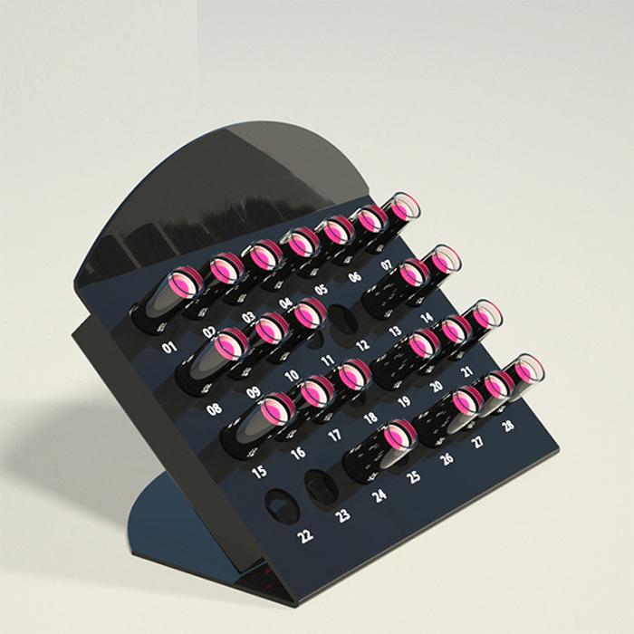 化妆品亚克力展示架批量订制 提供展示架设计