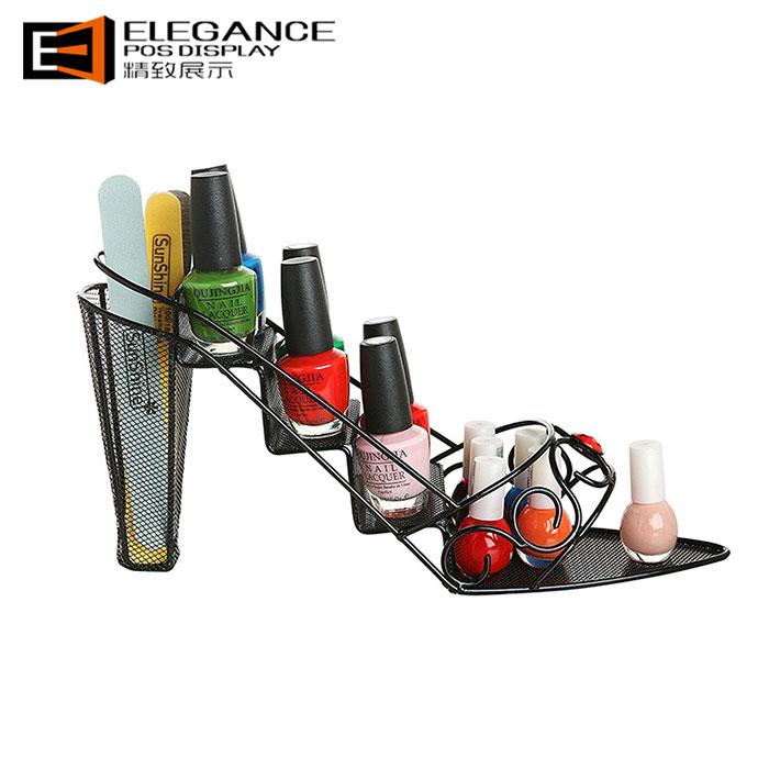 创意金属铁质化妆品陈列展示架,创意设计定制