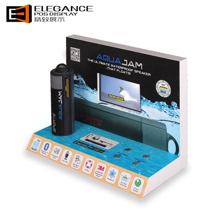 LCD带播放功能EPVC音箱展示架