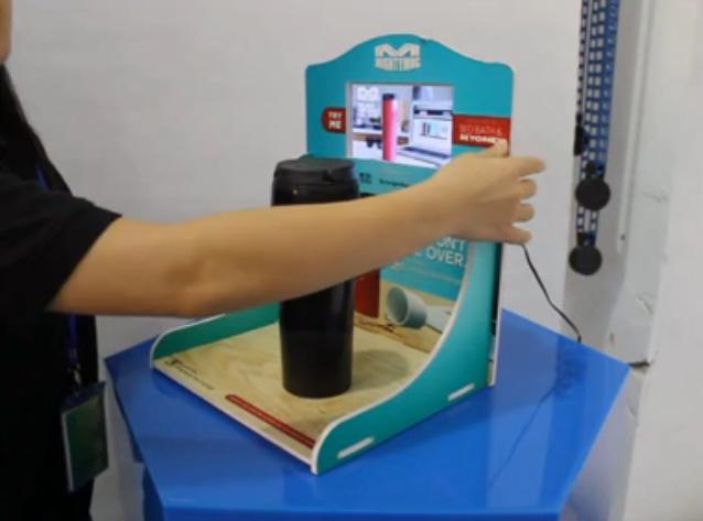 Mighty Mug品牌魔术杯子展示架设计及生产工艺视频介绍