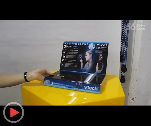 台面亚克力手机展示架设计及生产工艺视频介绍