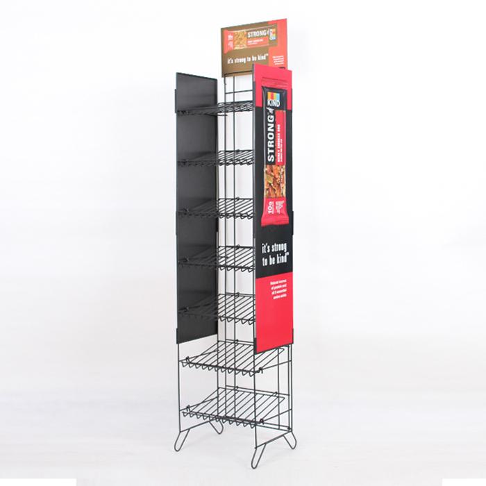 KIND Snacks品牌零食展示架/金属铁线展示架(含3款)