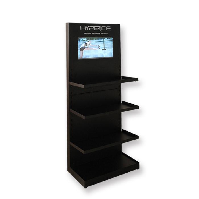 带显示器金属展架 高端展示架