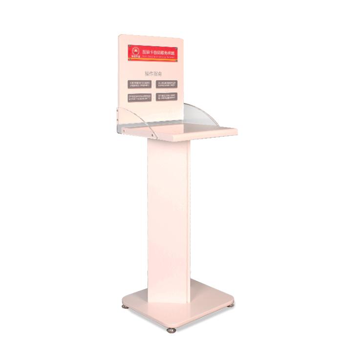 打印机展示架 木质展示架定制