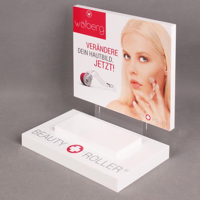 高档化妆品展示架化妆美白工具广告架,可定制设计展示架外观
