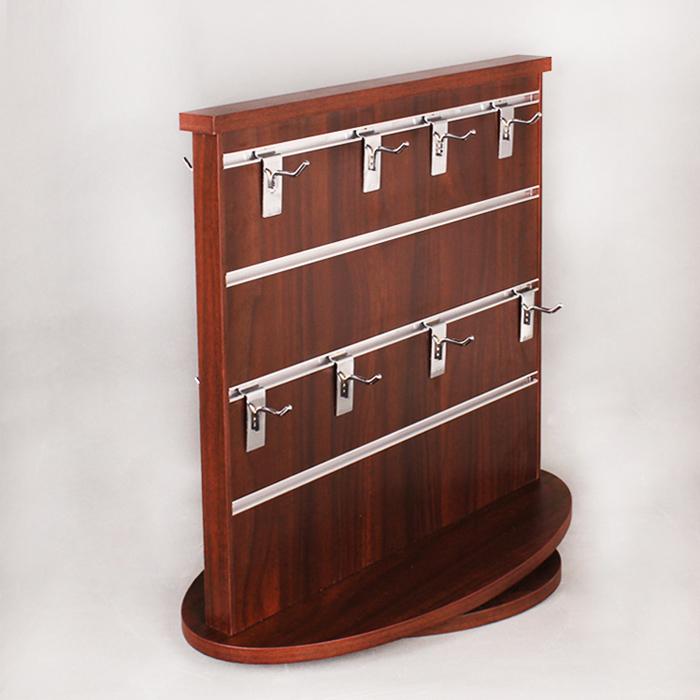 可旋转木制展示架,用于所有挂件类产品展示