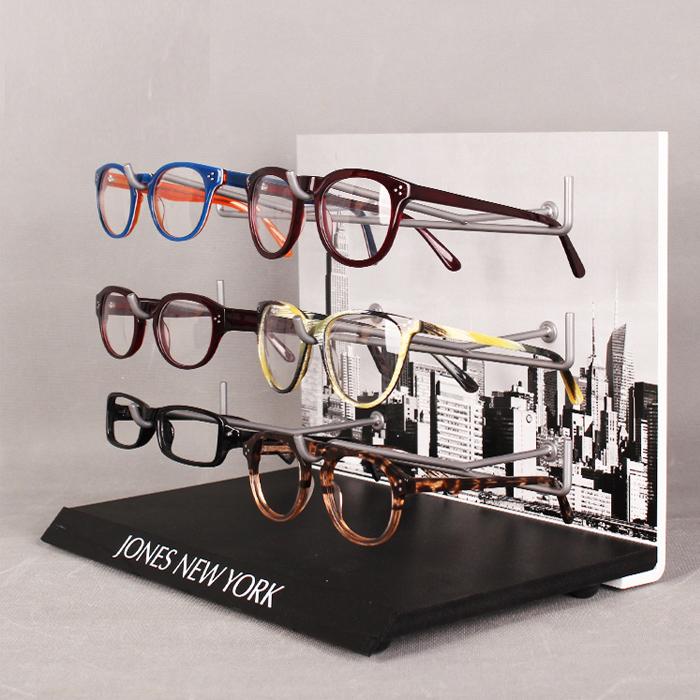 眼镜展示架 眼镜台面展示架批量加工