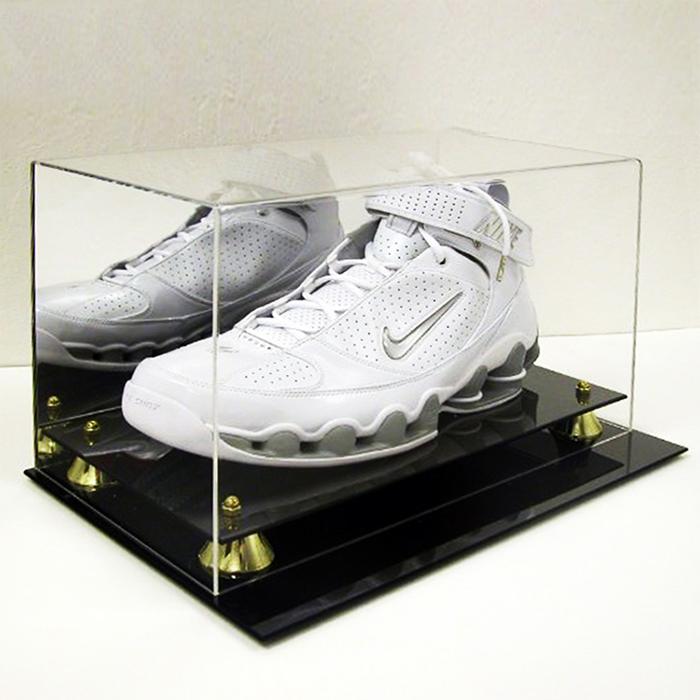 品牌宣传鞋子展示架 高档鞋子亚克力展示台