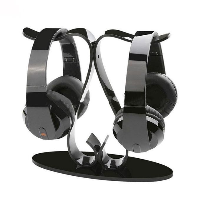 电子产品展示架定制,耳机陈列展示架批量制作