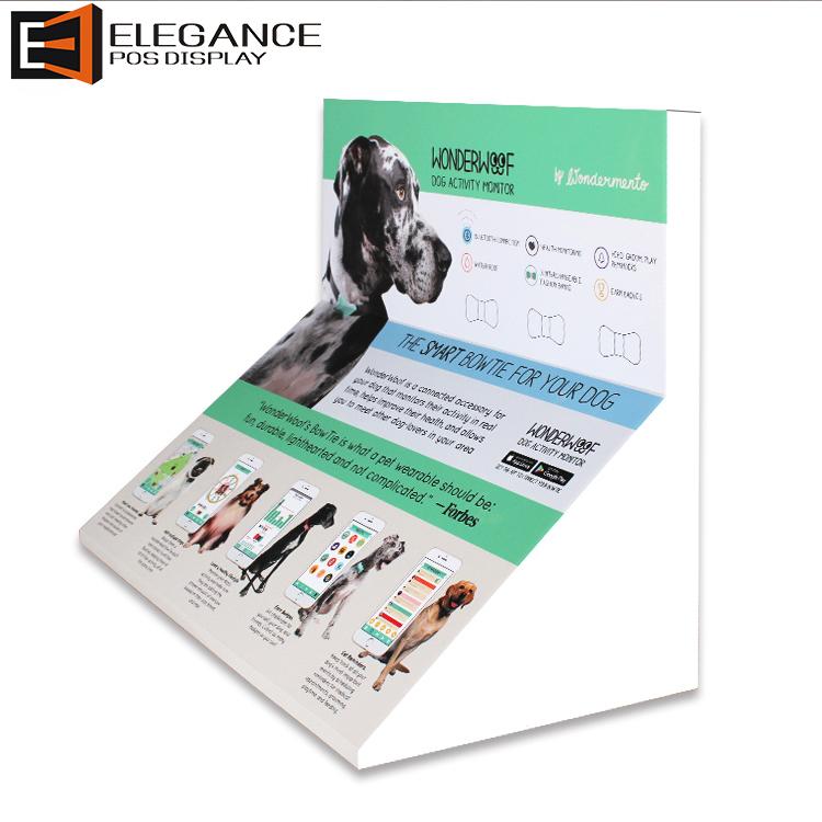 定制柜台PVC宠物追踪器展示架 展架工厂直销