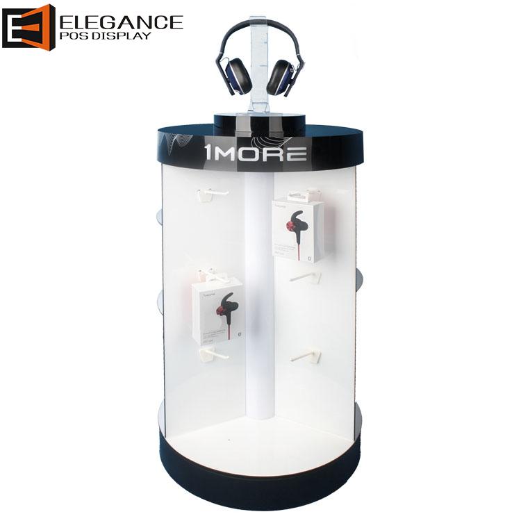 定制亚克力耳机架带LED灯的耳机展示架